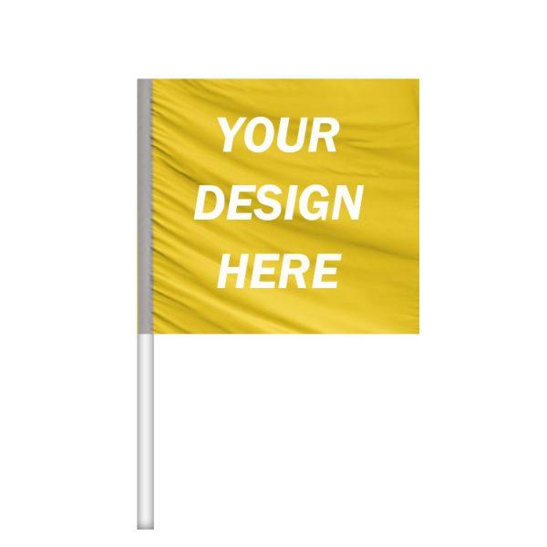 car window clip on flag custom design car flag