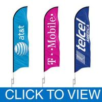Cellular Dealers Flags in Stock