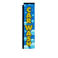 Car Wash Flag Rectangle Banner