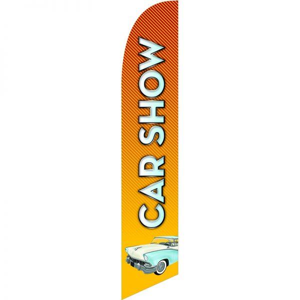 Car Show 1 Feather Flag
