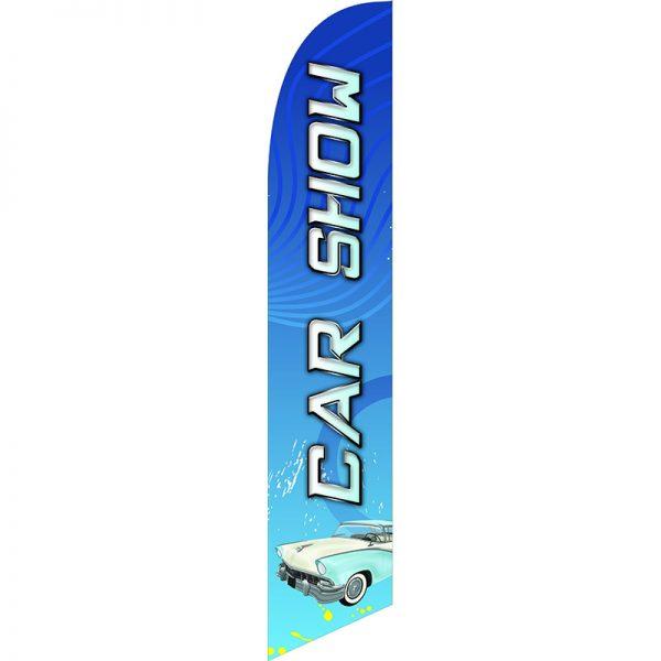 Car Show 2 Feather Flag