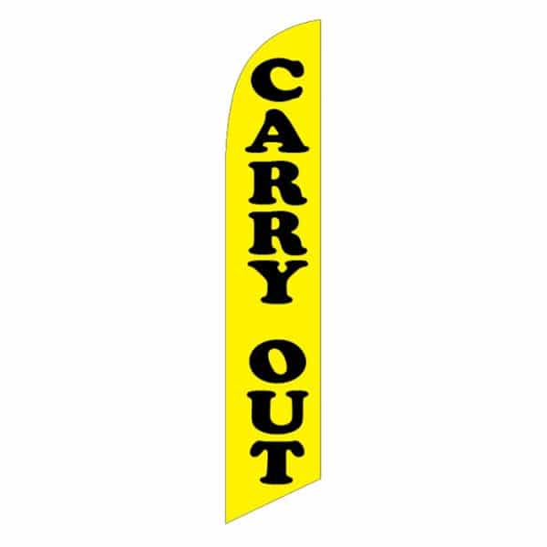 Carry-Out-Feather-Flag-Yellow