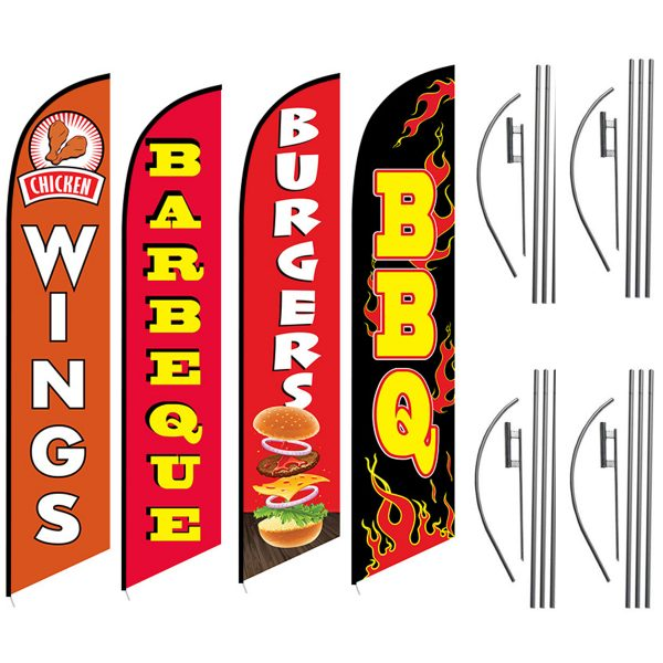 Chicken-Wings-Barbeque-Burgers-BBQ-Package-Great-for-BBQ-Food-Resteraunts