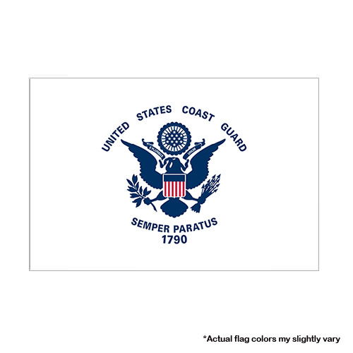 Coast Guard Flag - 3x5 Military Flag