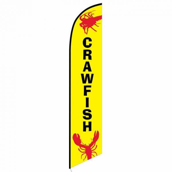 Crawfish Feather Flag