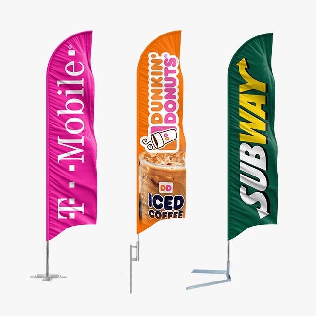 Custom Feather Flags - Feather Flag Nation