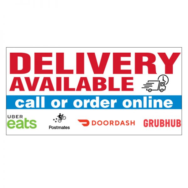 Delivery Available Vinyl