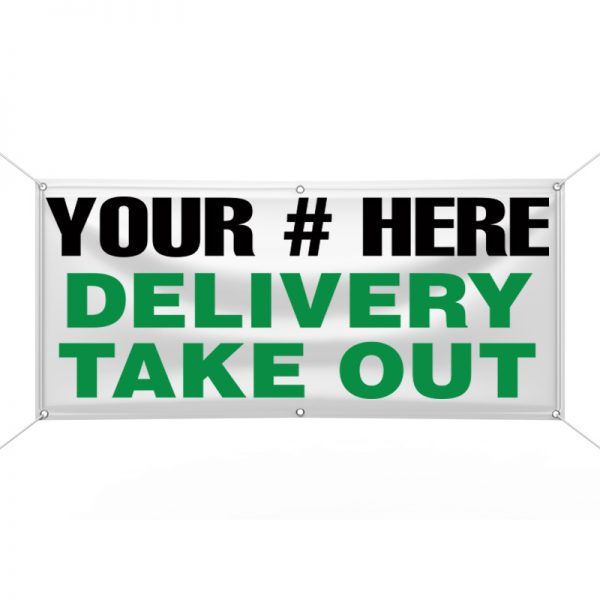 Delivery Take Out Banner