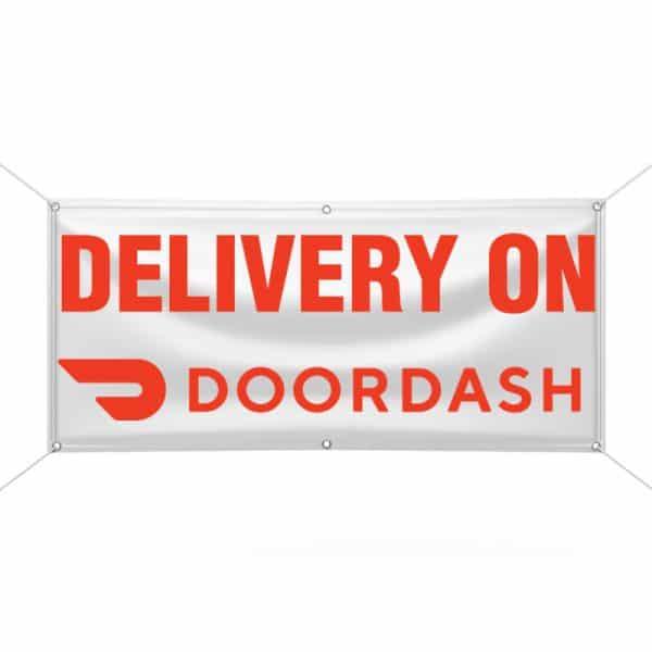 Delivery on Doordash Banner