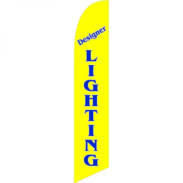 Designer Lighting Feather Flag