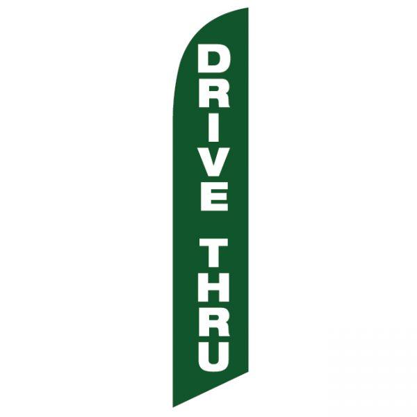 Drive Thru Feather Flag - FFN-99918