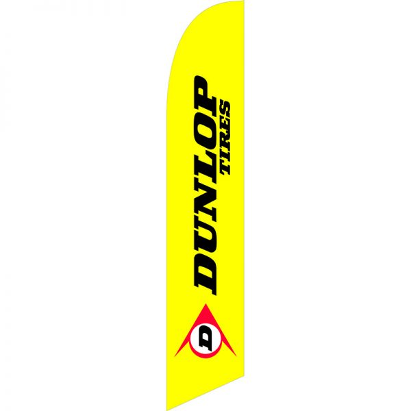 Dunlop Tires Feather Flag