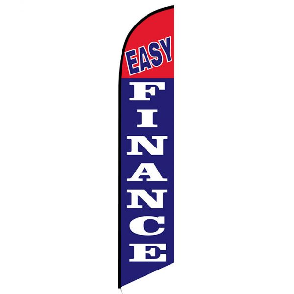 Easy Finance feather flag