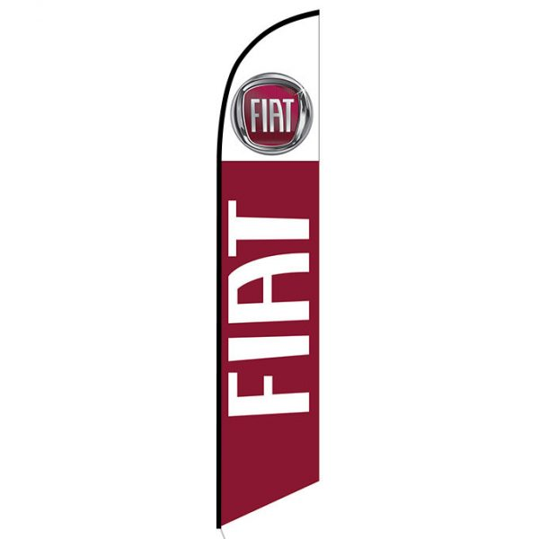 FIAT feather flag