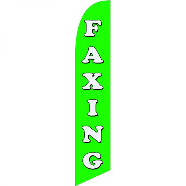 Faxing Feather Flag