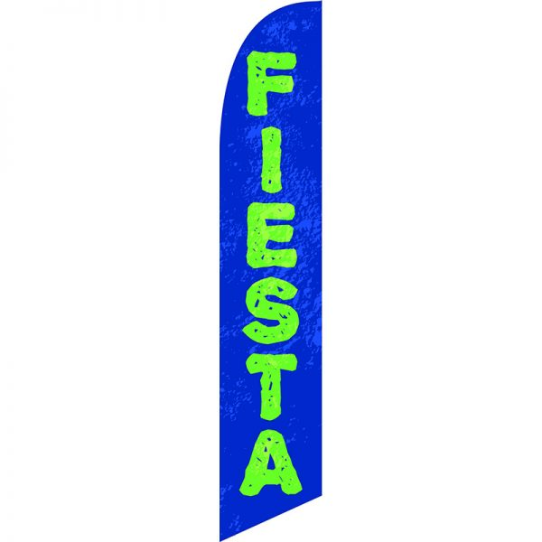 Fiesta Feather Flag