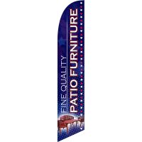 Fine Quality Patio Furniture Feather Flag Kit with Ground Stake