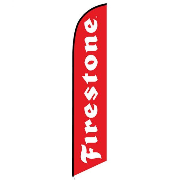 Firestone feather flag
