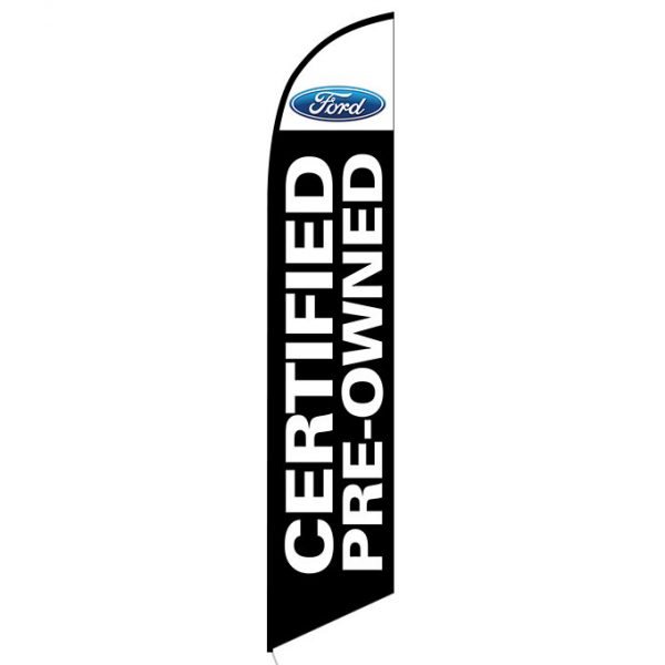 Ford Certified Pre-owned feather flag
