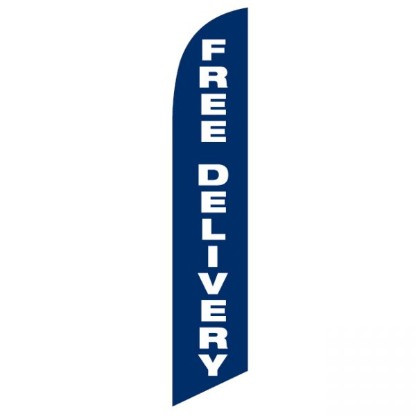 Free Delivery Feather Flag - FFN-99917