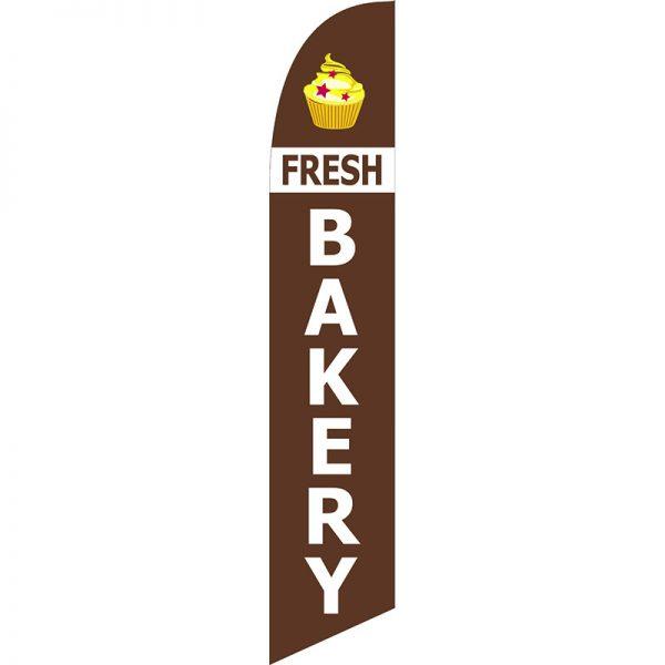 Fresh Bakery Feather Flag