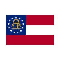 Georgia State 3×5 flag