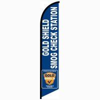 Gold Shield Station Smog Banner