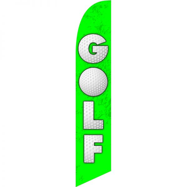 Golf Feather Flag