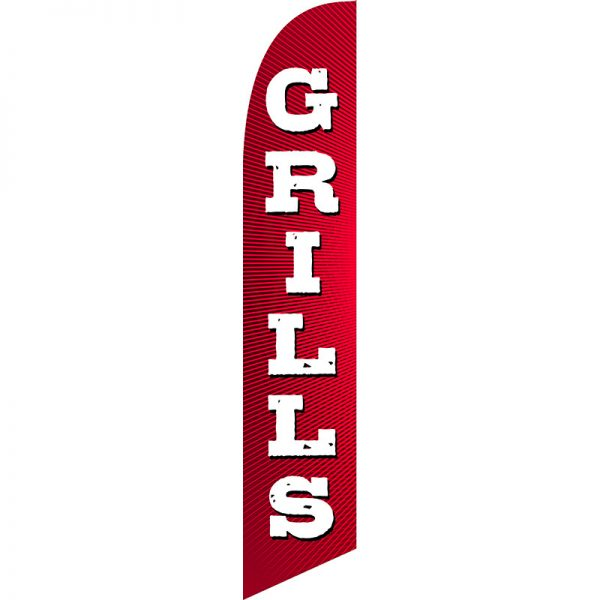 Grills Feather Flag