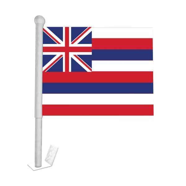 Hawaii State Car Flag