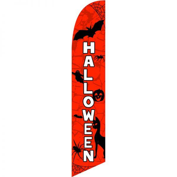 Halloween Feather Flag