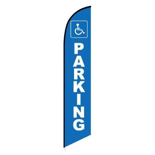 Handicap Parking feather flag
