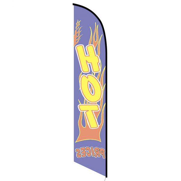 Hot Prices banner flag
