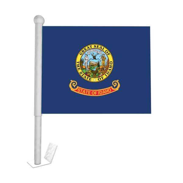 Idaho State Car Flag