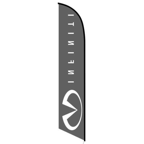 Infiniti feather banner flag
