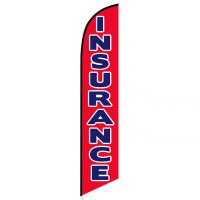 Insurance Feather Flags In Stock Advertising Banners Ffn
