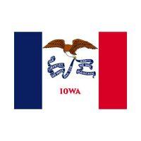 Iowa State 3×5 Flag
