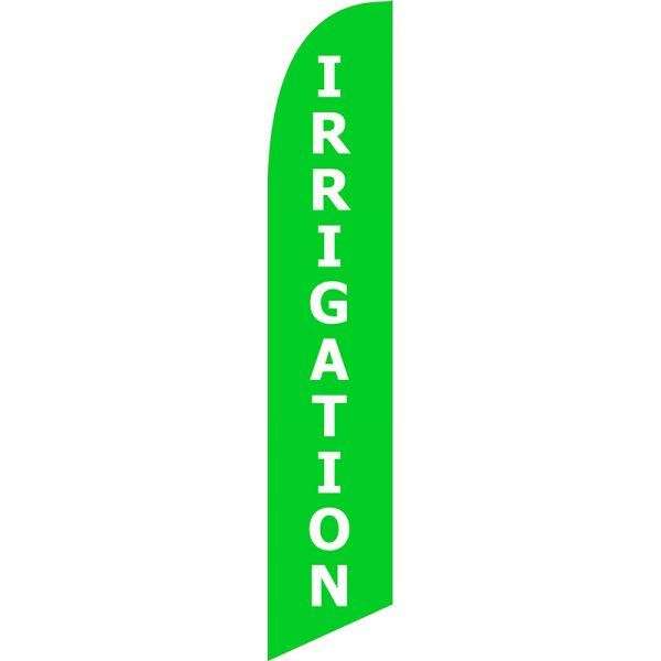 Irrigation Feather Flag