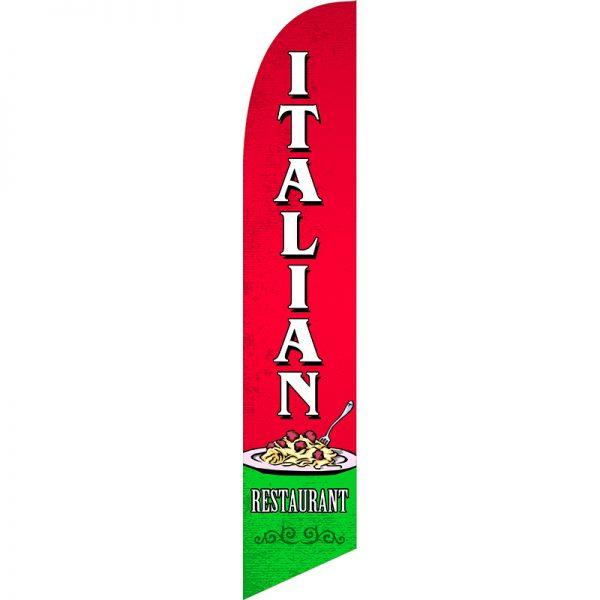 Italian Restaurant Feather Flag