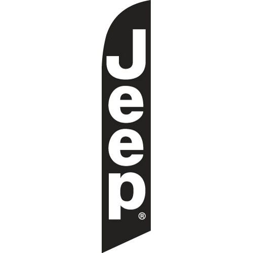 Jeep feather flag