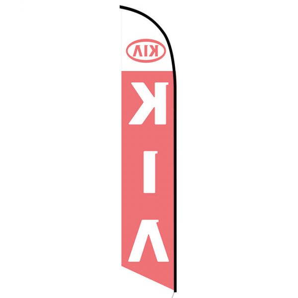 KIA feather flag