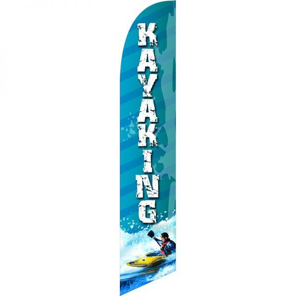 Kayaking Feather Flag