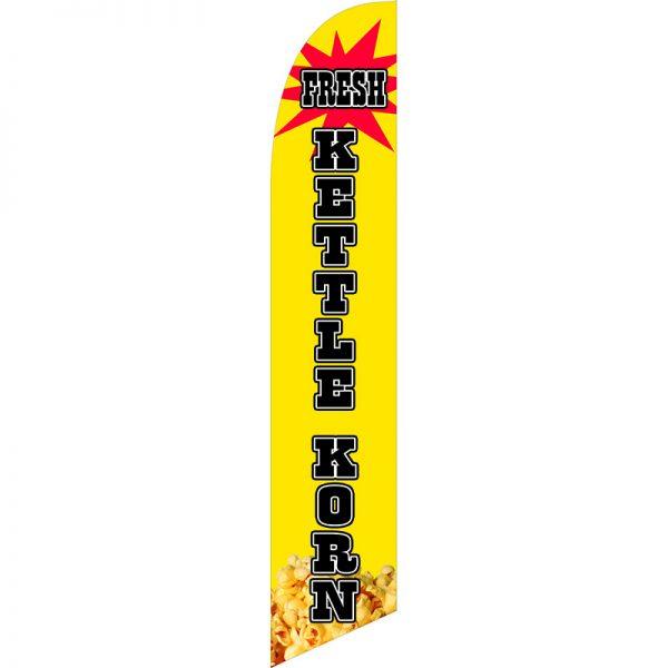 Kettle Corn Feather Flag