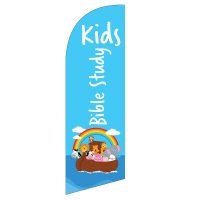 Kids Bible Study Feather Flag