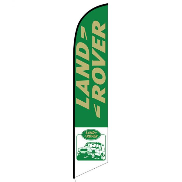 Land Rover feather flag
