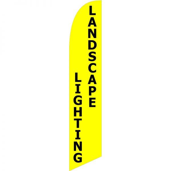 Landscape Lighting Feather Flag