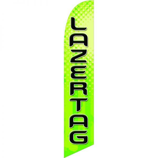 Lazertag Feather Flag