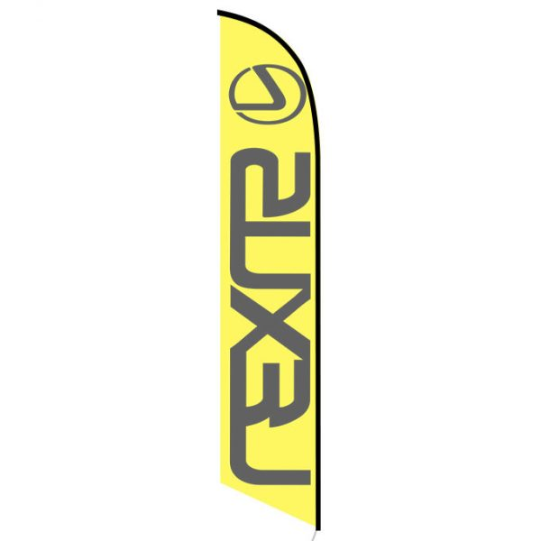 Lexus banner flag
