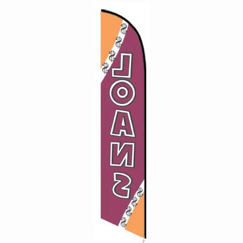 Loans feather flag