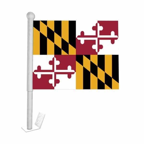 Maryland State Car Flag